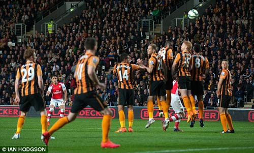 Hull – Arsenal: Ban bật đẹp như mơ - 1