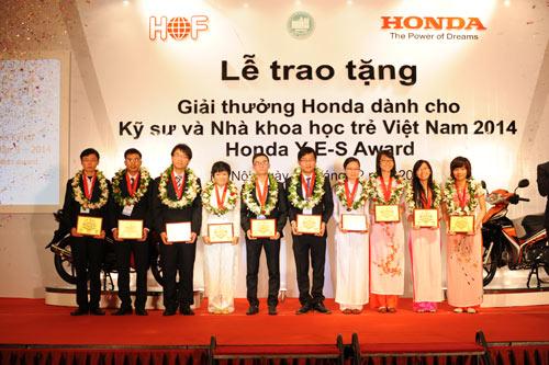 Khởi động giải thưởng Honda dành cho Kỹ sư và Nhà khoa học trẻ VN - 1