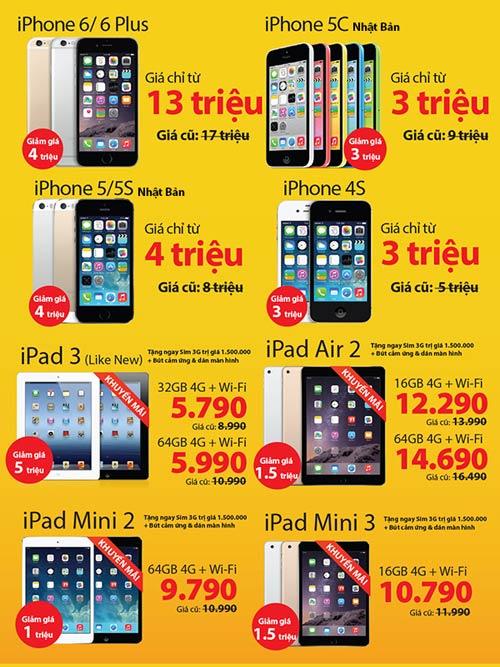 iPhone khóa mạng giảm giá sốc 50%, giá chỉ từ 2.9 triệu đồng - 1