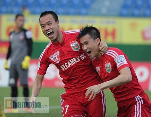 Công Vinh: Tôi vẫn ăn mừng bàn thắng lịch sử V-League - 1