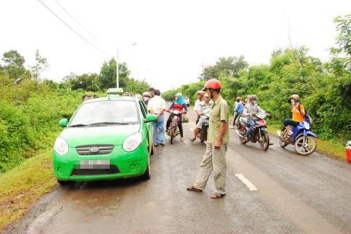 Bắt kẻ cướp taxi chạy từ Hà Nội vào tận Hà Tĩnh - 1