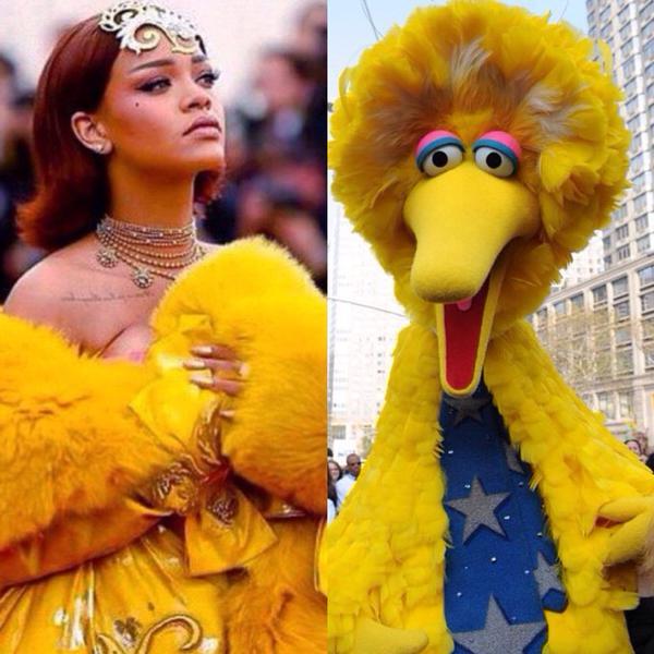 """Mặc """"long bào"""", Rihanna bị chế ảnh và chê bai thậm tệ - 9"""