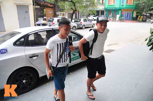 Cầu thủ U23 Việt Nam ngủ một nơi, ăn một nơi - 6