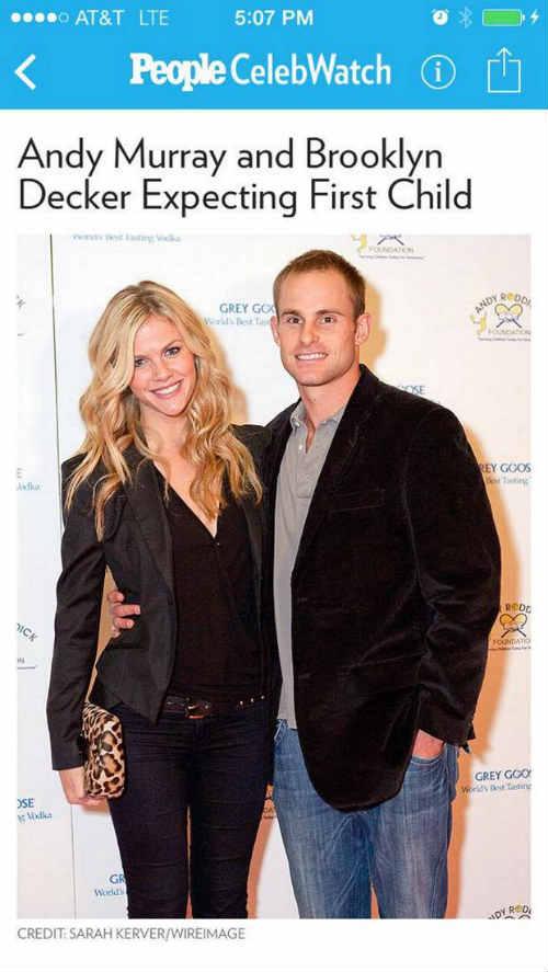 Tin thất thiệt: Murray có con với… vợ Roddick - 1