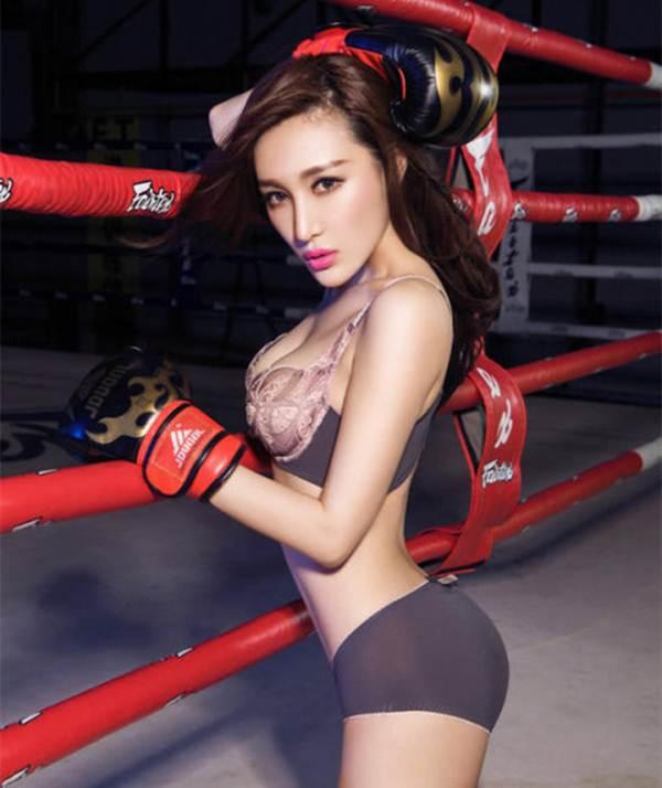 Hot girl lai khoe vẻ đẹp nóng bỏng với boxing - 2