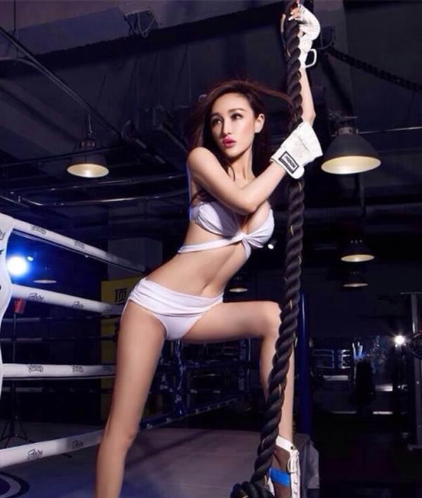 Hot girl lai khoe vẻ đẹp nóng bỏng với boxing - 7