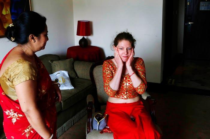 Nepal: Những đám cưới giữa lòng động đất kinh hoàng - 1