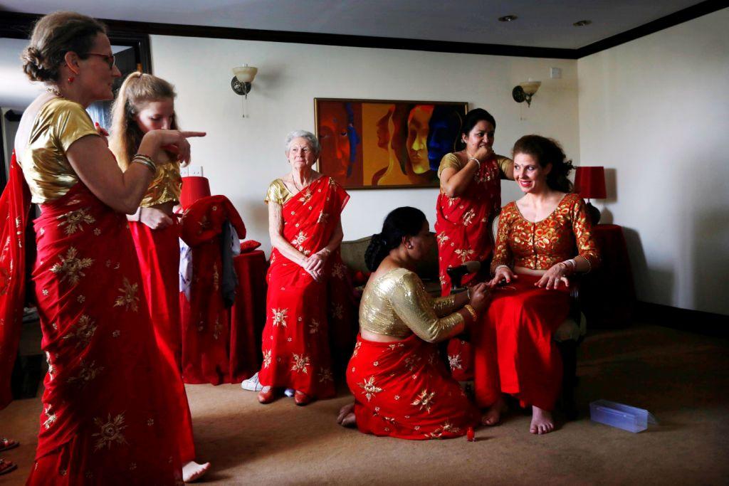 Nepal: Những đám cưới giữa lòng động đất kinh hoàng - 4