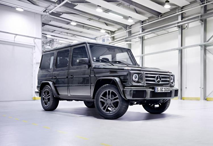 Mercedes-Benz G500 được trang bị động cơ V8, Biturbo, dung tích 4.0 lít mới.