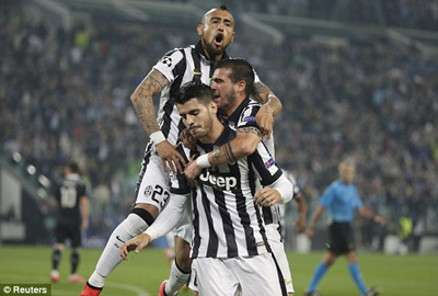 TRỰC TIẾP Juventus - Real: Tevez và Bale rời sân (KT) - 6