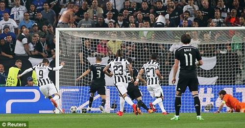 Juventus - Real: Đòn phản công sắc lẹm - 1