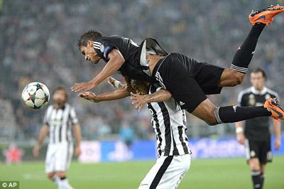 TRỰC TIẾP Juventus - Real: Tevez và Bale rời sân (KT) - 12