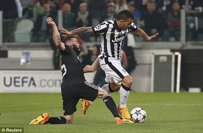 TRỰC TIẾP Juventus - Real: Tevez và Bale rời sân (KT) - 10