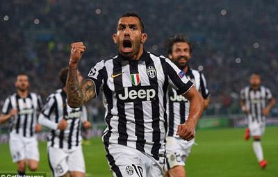 TRỰC TIẾP Juventus - Real: Tevez và Bale rời sân (KT) - 14