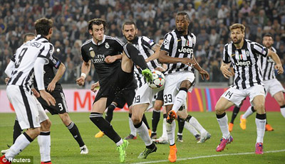 TRỰC TIẾP Juventus - Real: Tevez và Bale rời sân (KT) - 13