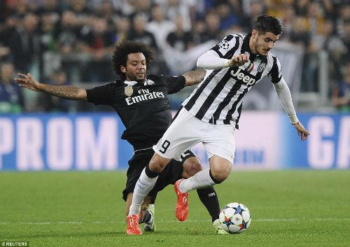 Morata ghi bàn kỷ lục vào lưới Real - 2