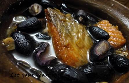 Ngọt bùi trám đen kho cá - 2