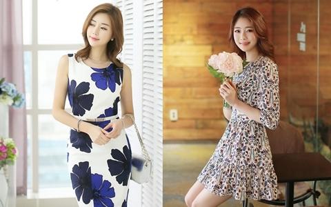 Chọn váy mát xoa dịu nắng hè