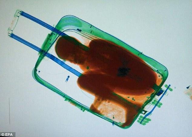 """Giấu bé 8 tuổi trong vali để """"tuồn"""" vào Tây Ban Nha - 1"""
