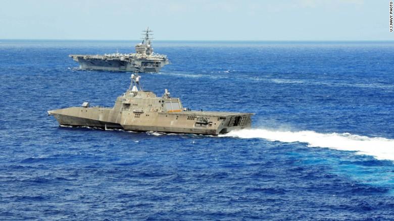 Ngắm tàu chiến Mỹ vừa tuần tra trên Biển Đông - 5