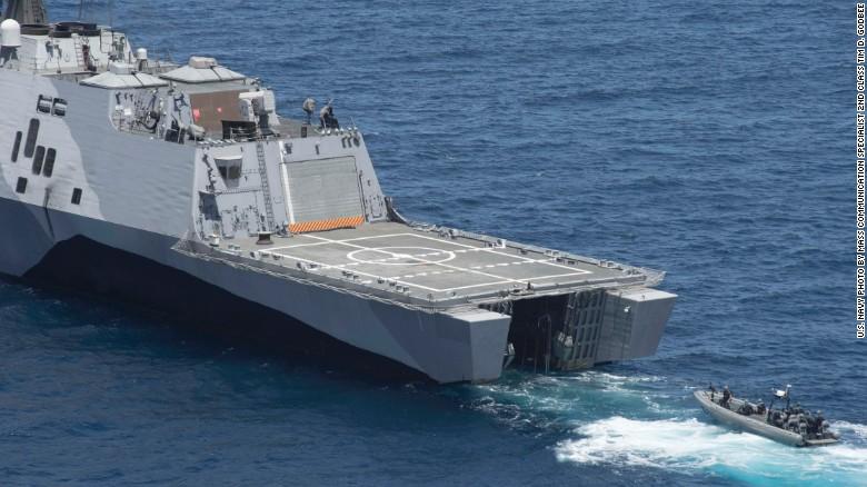 Ngắm tàu chiến Mỹ vừa tuần tra trên Biển Đông - 6