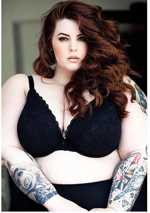 Vẻ đẹp gợi cảm của người mẫu béo nhất thế giới - 5