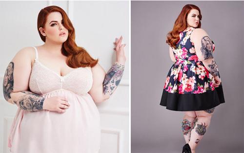 Vẻ đẹp gợi cảm của người mẫu béo nhất thế giới - 6