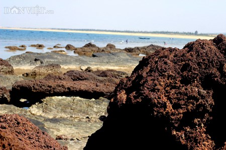 Đẹp hoang sơ ghềnh đá biển Rạng trên đất Quảng - 11