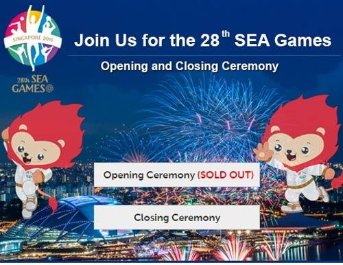 Vé khai mạc SEA Games 28 được bán hết sạch - 1