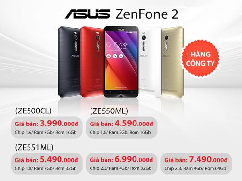 Cơn sốt Asus Zenfone 2 chiếm lĩnh thị trường Smartphone - 3