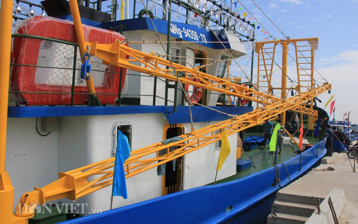 Tàu cá vỏ thép 8,7 tỷ của ngư dân miền Trung có gì đặc biệt? - 7