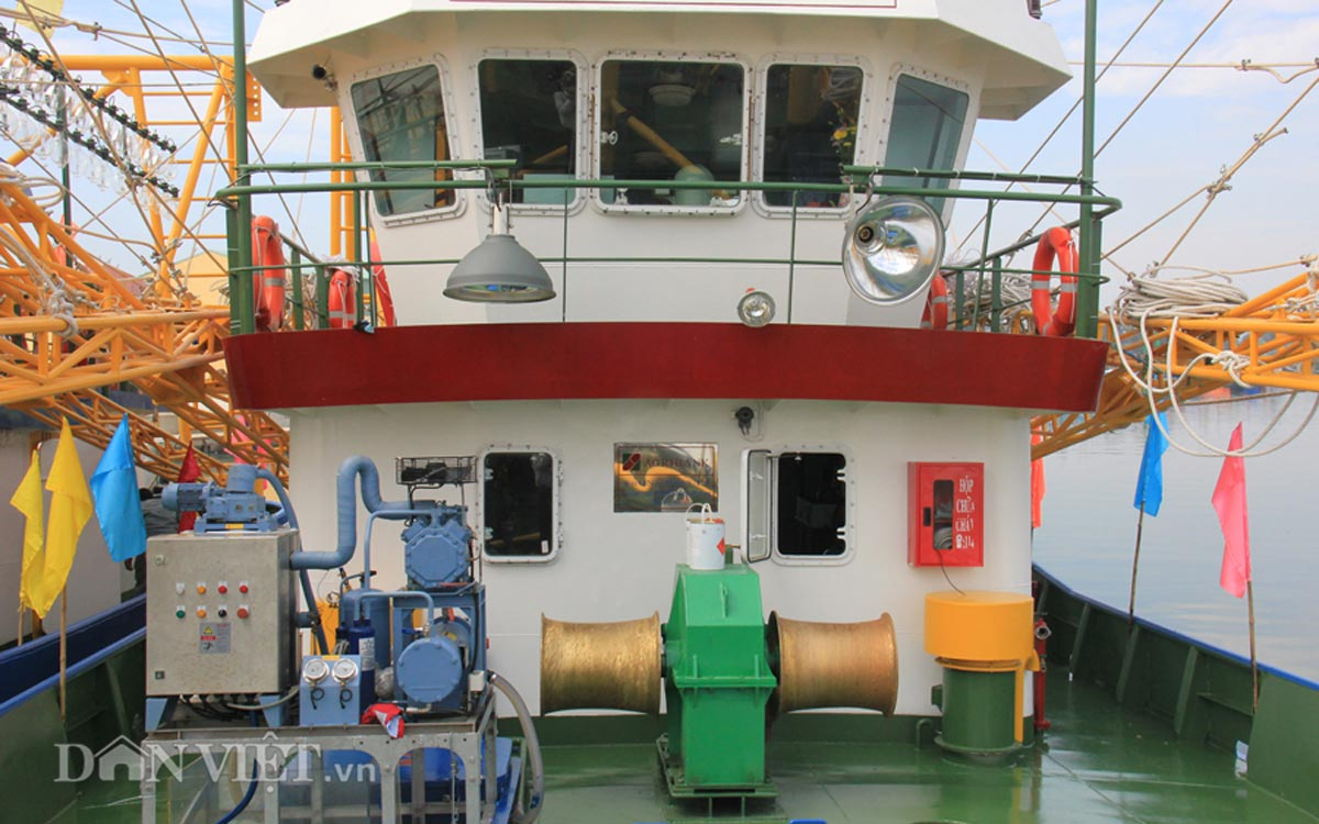 Tàu cá vỏ thép 8,7 tỷ của ngư dân miền Trung có gì đặc biệt? - 12