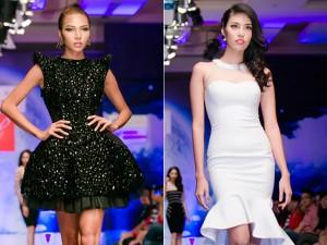 Minh Triệu và Lan Khuê khoe dáng đẹp với váy mùa hè