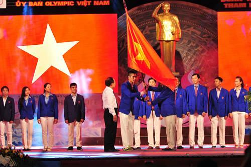 Tưng bừng lễ xuất quân đoàn TTVN tham dự SEA Games 28 - 1