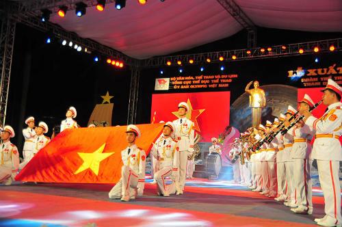 Tưng bừng lễ xuất quân đoàn TTVN tham dự SEA Games 28 - 5