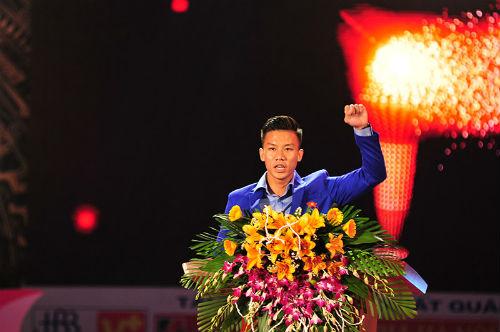 Tưng bừng lễ xuất quân đoàn TTVN tham dự SEA Games 28 - 2
