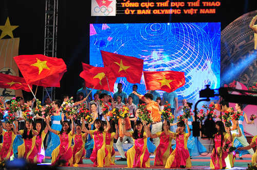 Tưng bừng lễ xuất quân đoàn TTVN tham dự SEA Games 28 - 11