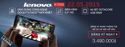 Giới trẻ háo hức chờ mua Lenovo A7000 trước ngày bán - 1