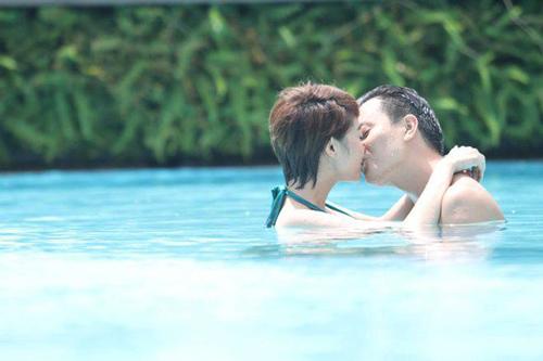 Những nụ hôn nóng bỏng của Minh Hằng trên màn ảnh - 5