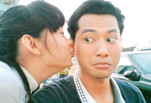 Những nụ hôn nóng bỏng của Minh Hằng trên màn ảnh - 12