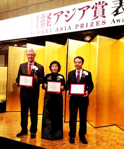 TGĐ Vinamilk được vinh danh tại lễ trao giải thưởng Nikkei Châu Á lần thứ 20 - 1
