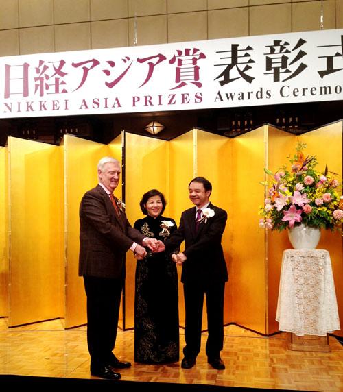 TGĐ Vinamilk được vinh danh tại lễ trao giải thưởng Nikkei Châu Á lần thứ 20 - 2