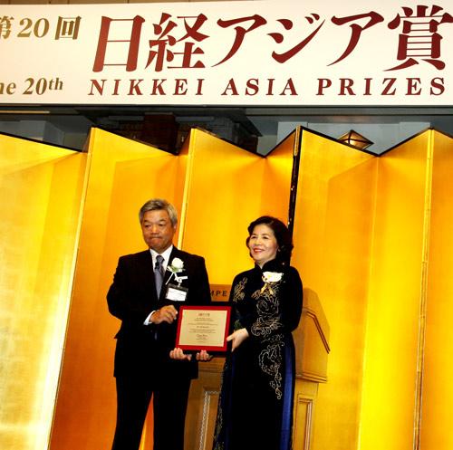 TGĐ Vinamilk được vinh danh tại lễ trao giải thưởng Nikkei Châu Á lần thứ 20 - 3