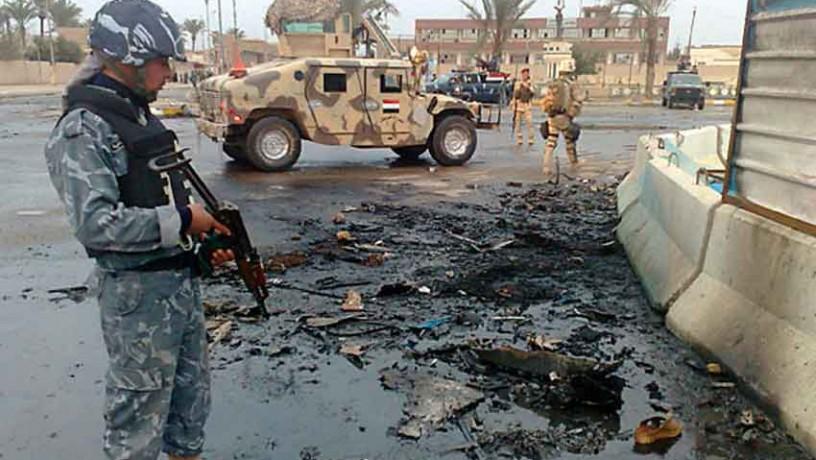 IS bị xe tăng chặn đứng ở ngoại ô Ramadi - 2