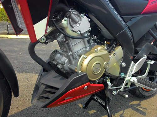 Xe côn tay Yamaha FZ150i mới trình làng - 6