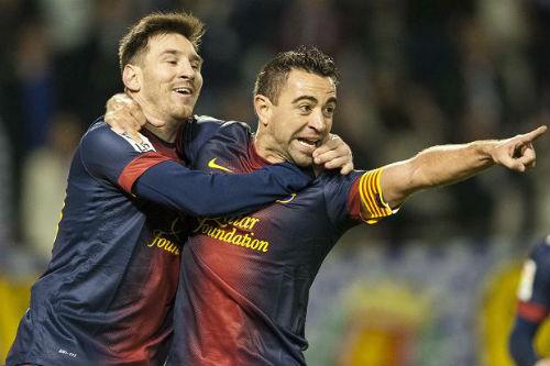 Messi vĩ đại tại Barca: Phải cảm ơn Xavi - 1