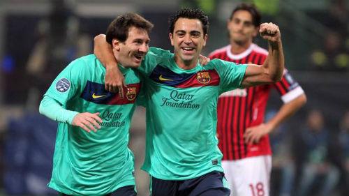 Messi vĩ đại tại Barca: Phải cảm ơn Xavi - 2