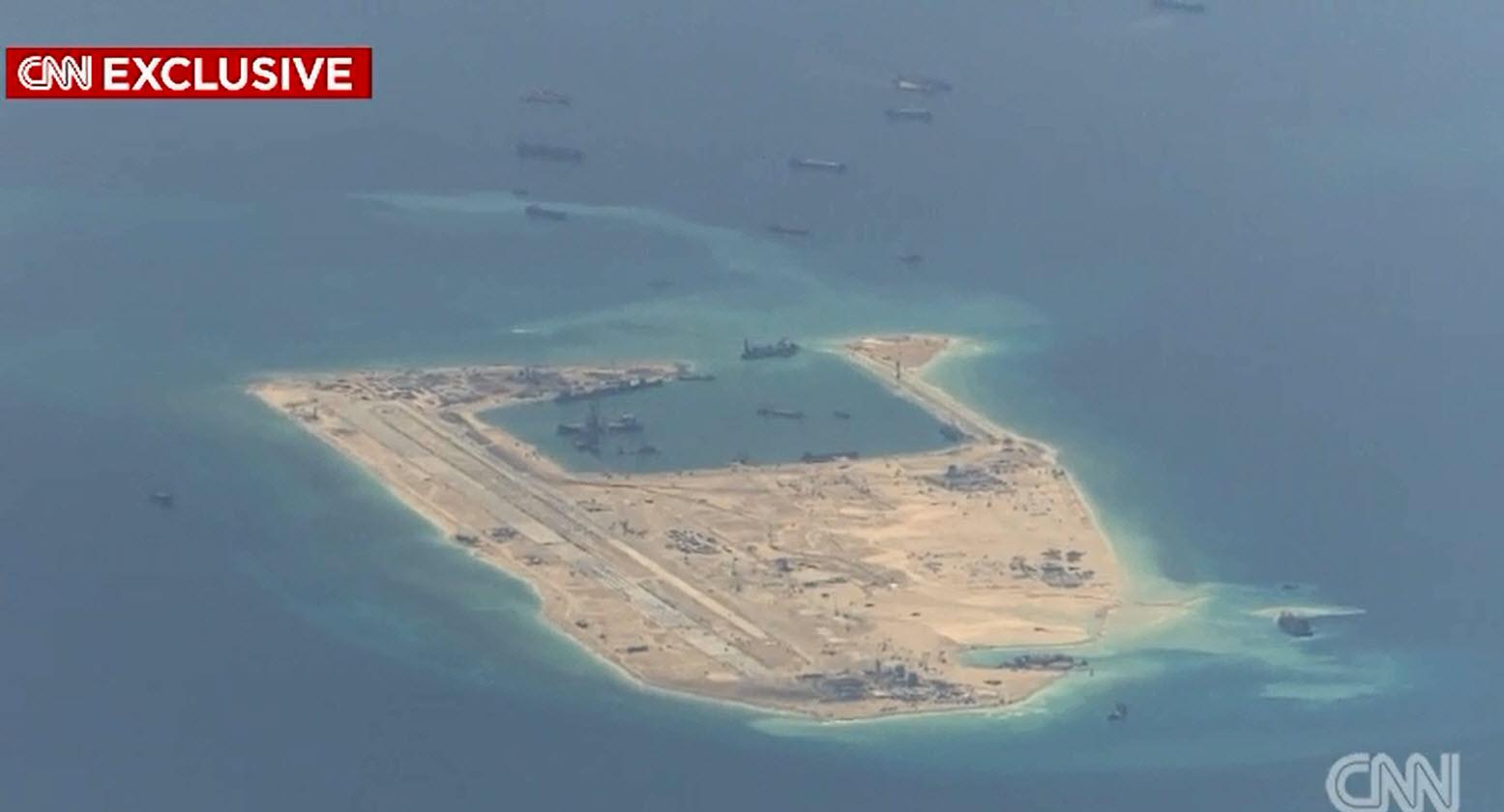 """Máy bay Mỹ bị TQ """"xua đuổi"""" trên Biển Đông - 4"""