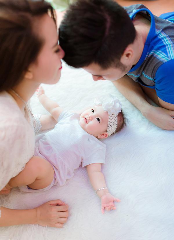 Ngắm con gái xinh như thiên thần của hot girl Mai Thỏ - 6
