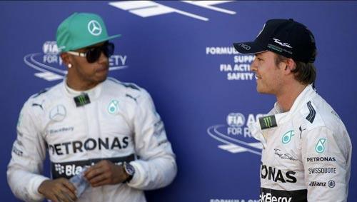 "F1: Hamilton ""tính nợ"" với Rosberg ở Monaco - 1"